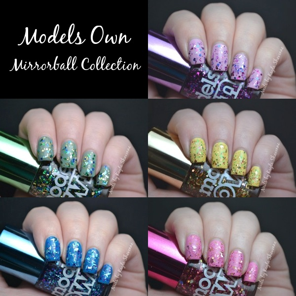 Nails by Kayla Shevonne: Review & Swatches - Models Own Mirrorball ...