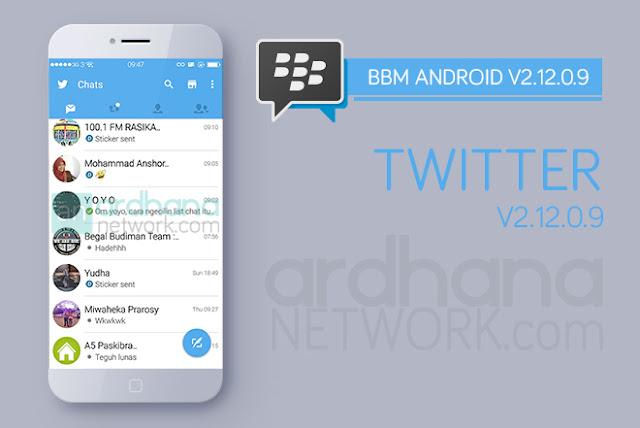 BBM Twitter V2.12.0.9 - BBM Android V2.12.0.9