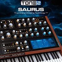 Виртуально-аналоговый программный синтезатор Tone 2 Saurus