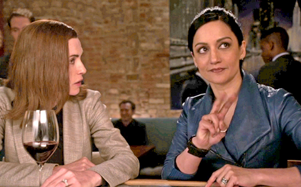 Archie Panjabi & Julianna Margulies in 'The Good Wife'