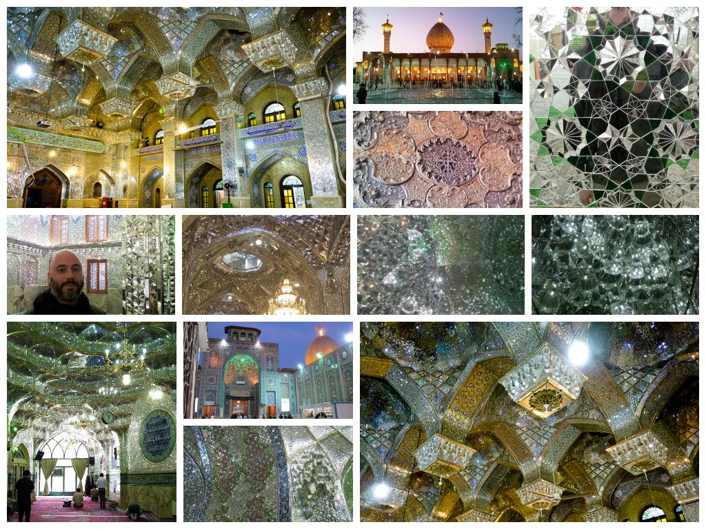 Kolczyki Shiraz – Rococo / ślubne