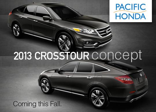 Pacific Honda Blog 2013 Honda Crosstour Concept