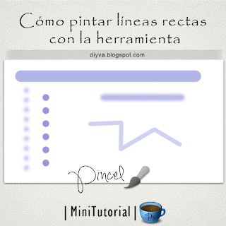 Tutorial Photoshop pintar lineas rectas