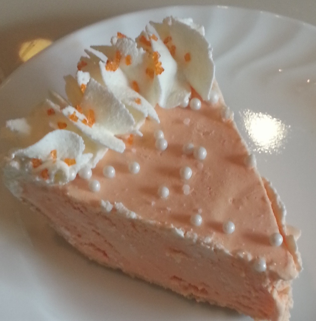 Baking Banquet: ORANGE CREAMSICLE PIE (Frozen Orange and Cream Pie)