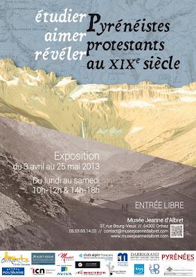 exposition temporaire le protestantisme et la montagne.du 3 avril au 25 mai 2013  Musée Jeanne d'Albret - Orthez