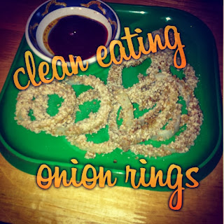 clean eating onion rings