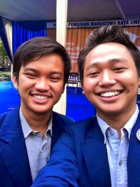 Reza Adi Pratama dan M. Syahril Mubarok merupakan mahasiswa asal Bekasi