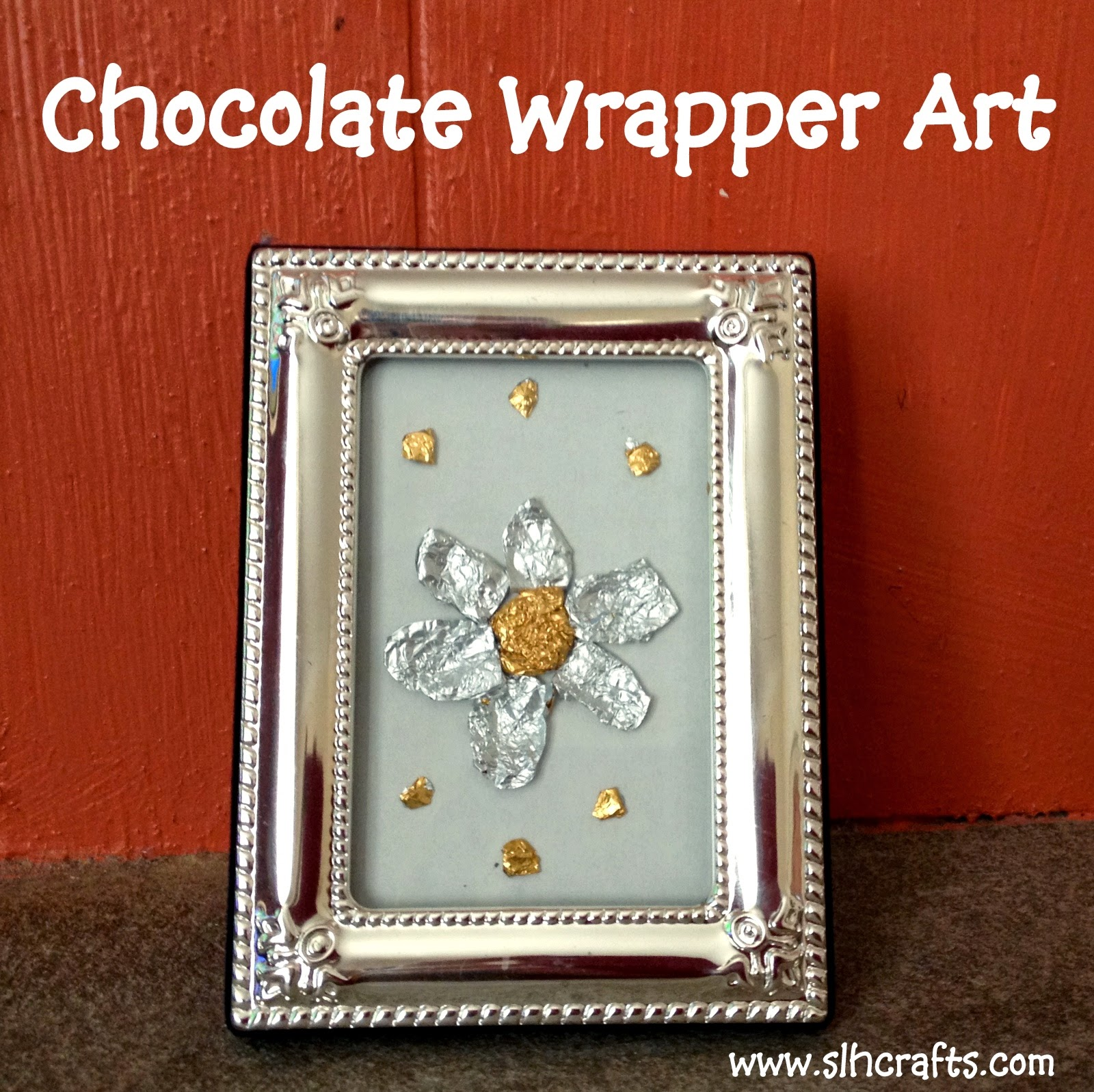 chocolate wrapper art