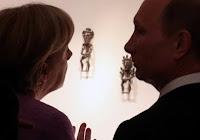 Epoca bronzului - dispută ştiinţifică între Putin şi Merkel în privinţa atribuirii culturii gazului prin conductă