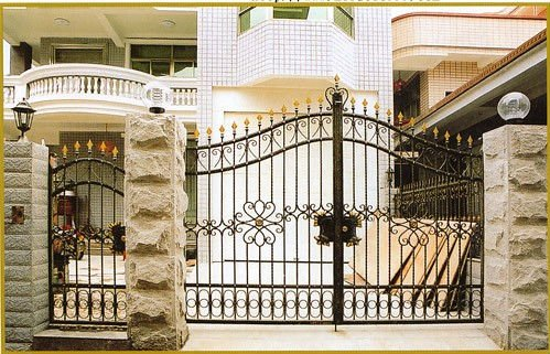 Main Gate Design  Home on Modern Homes Main Entrance Gate Designs