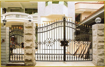 Modern Homes Main Entrance Gate Designs Huntto Com