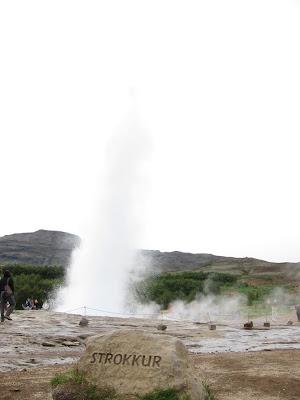Strokkur geiser, Iceland