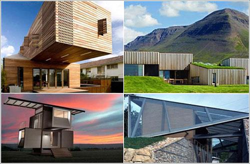 Arquitectura bioclimatica for Arquitectura casas modernas fotos