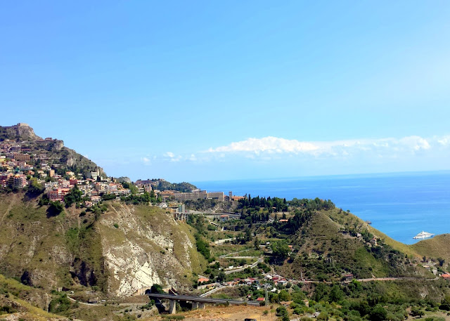 View of Taormina  |  September in Sicily on afeathery*nest  |  http://afeatherynest.com