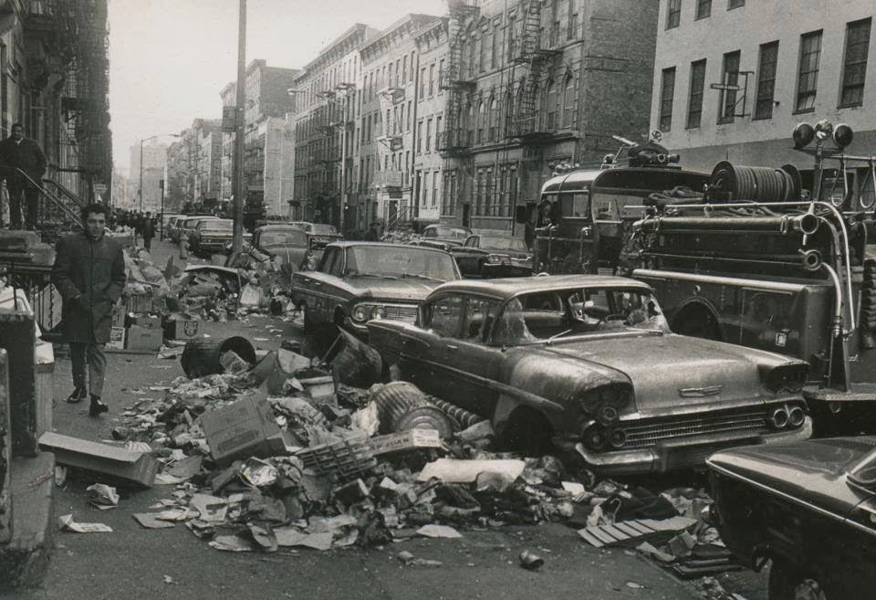 Nyc Garbage Strike 1968 Vintage Everyday