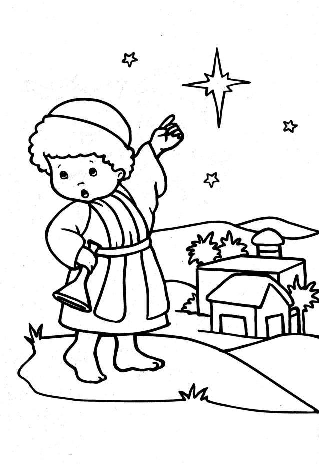 dia dos pais nascimento de jesus 3 imagens para colorir