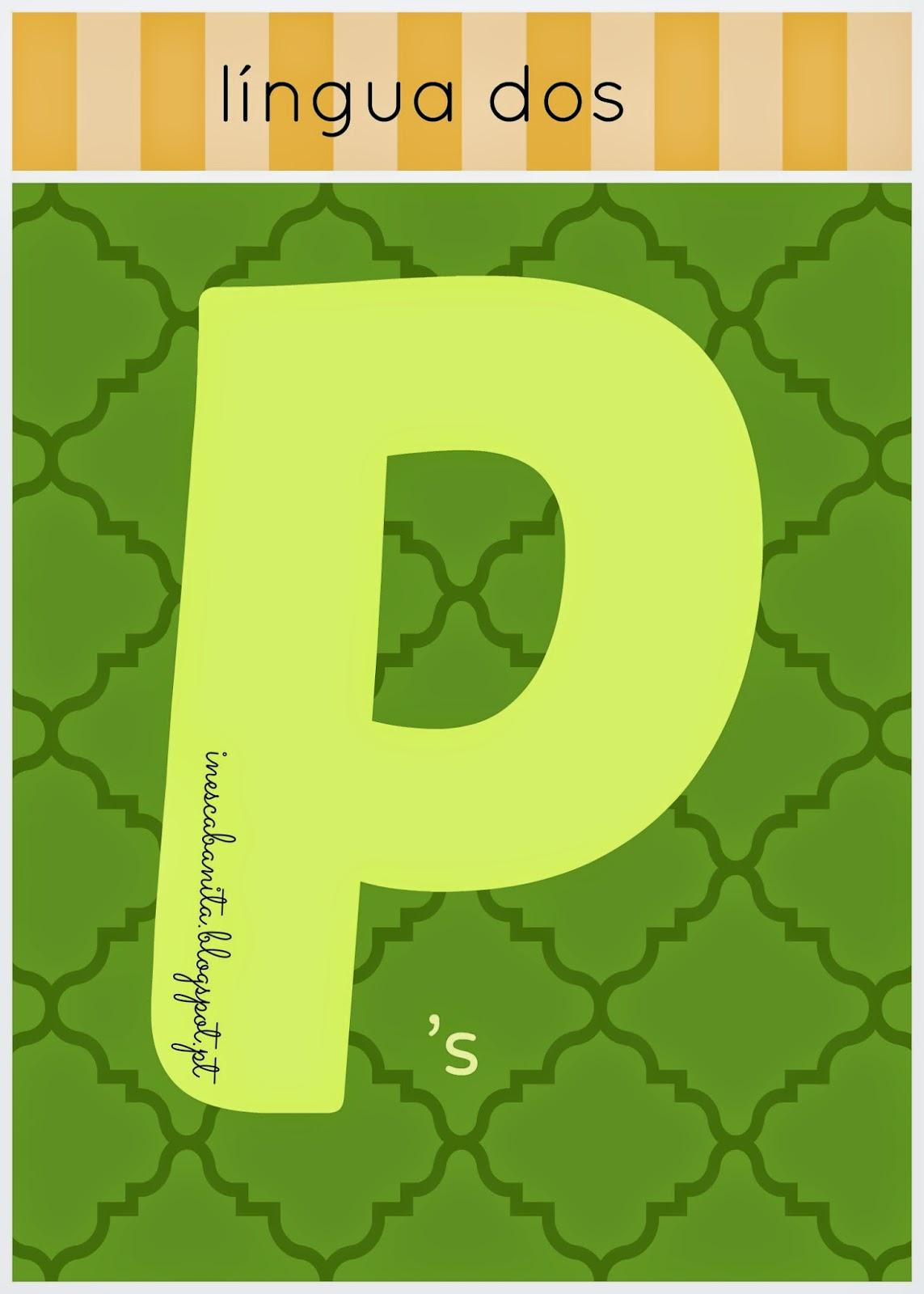 língua dos p's