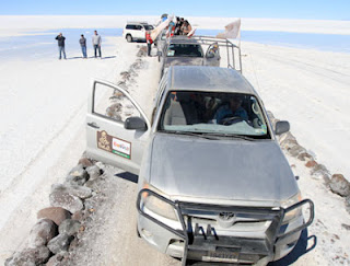 Dakar Por Bolivia - Salar de Uyuni - Dakar 2014