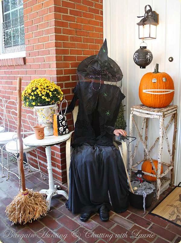 Decoracion para halloween en casa y en el exterior - Decoracion halloween para casa ...