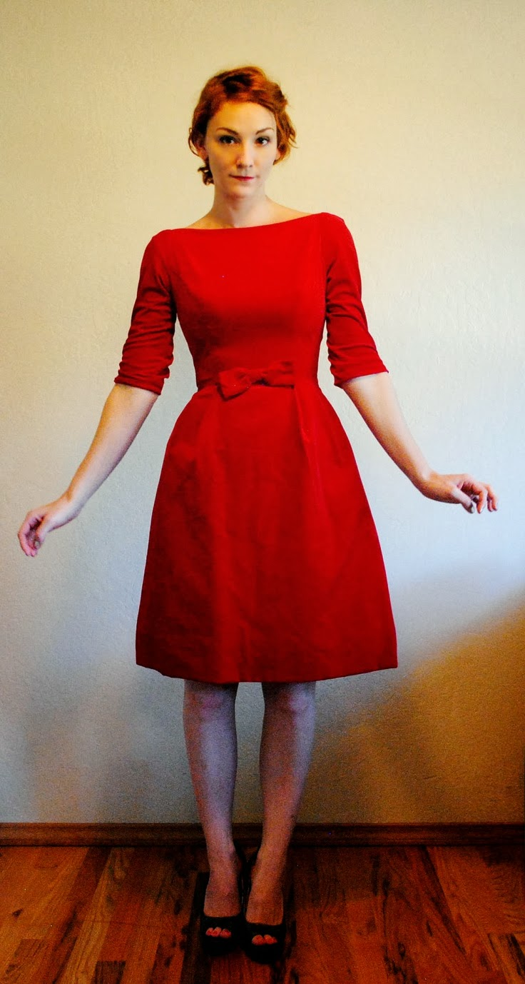 Handmade jane little almost black party dress for 1950s wedding guest dresses
