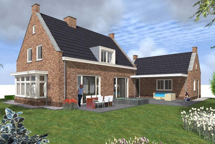 Het bouwen van ons nieuwe huis straat veranderd ontwerp for Huis in 3d ontwerpen