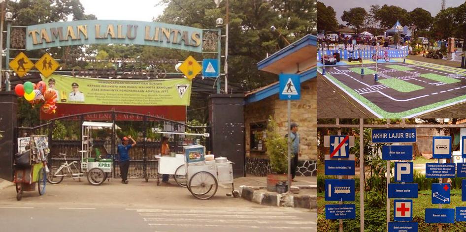 Taman lalu lintas Bandung