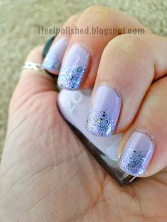 Purple Glitter Gradient