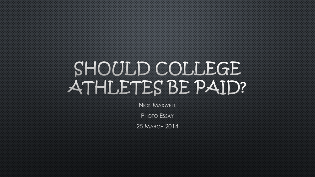 essays paying college athletes Should college athletes be paid should college athletes be paid this question has been the subject of debate for many years there are pros and cons to both sides of the issue, but college athletes deserve to be paid for several reasons.