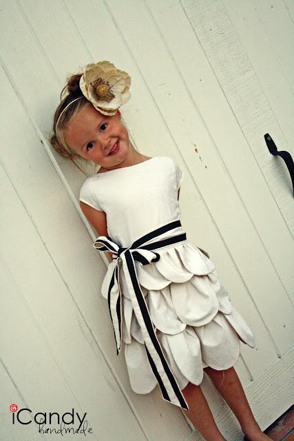 petal skirt dress