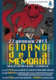 27 gennaio 2013. Colonnella.Giornata della memoria. Cinema e shoa.