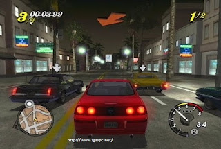 Download Game l.a rush PCSX2 ISO For PC Full version  ZGASPC