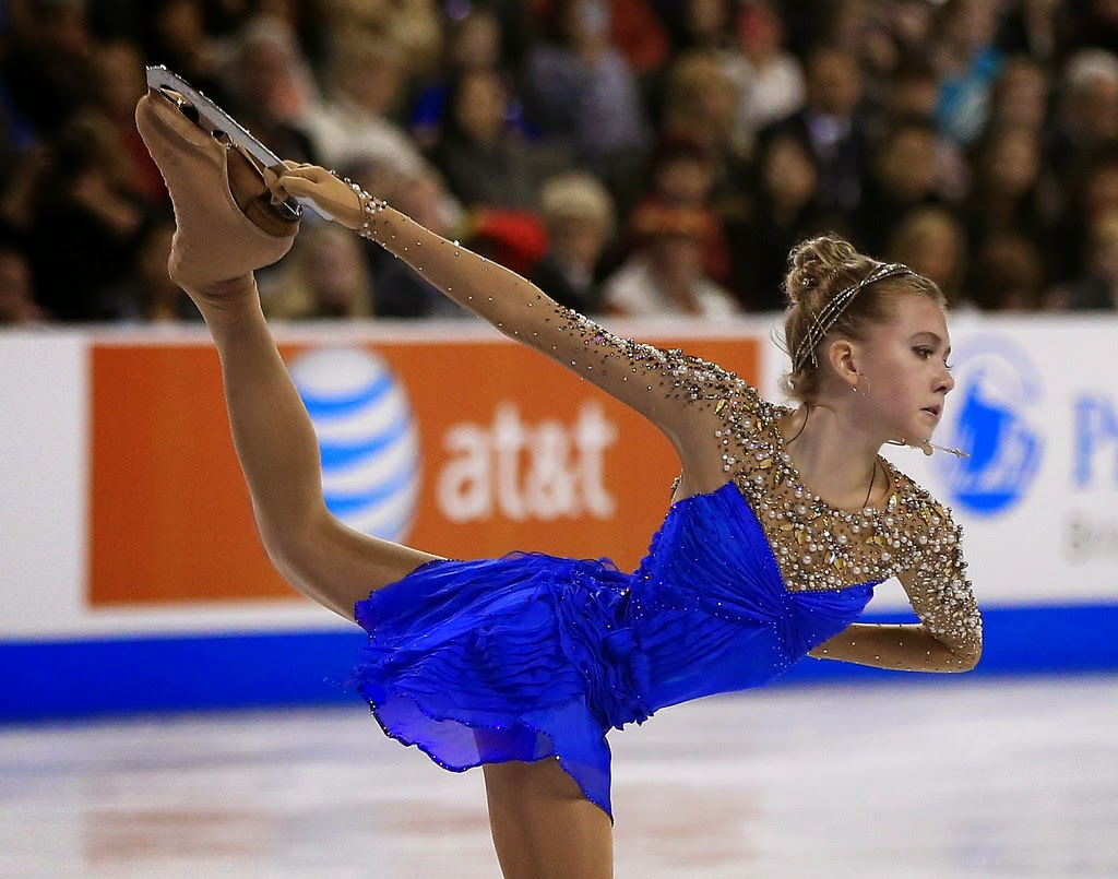 ICE STYLE.....2014 Skate America Figure Skating Costumes: LADIES ...