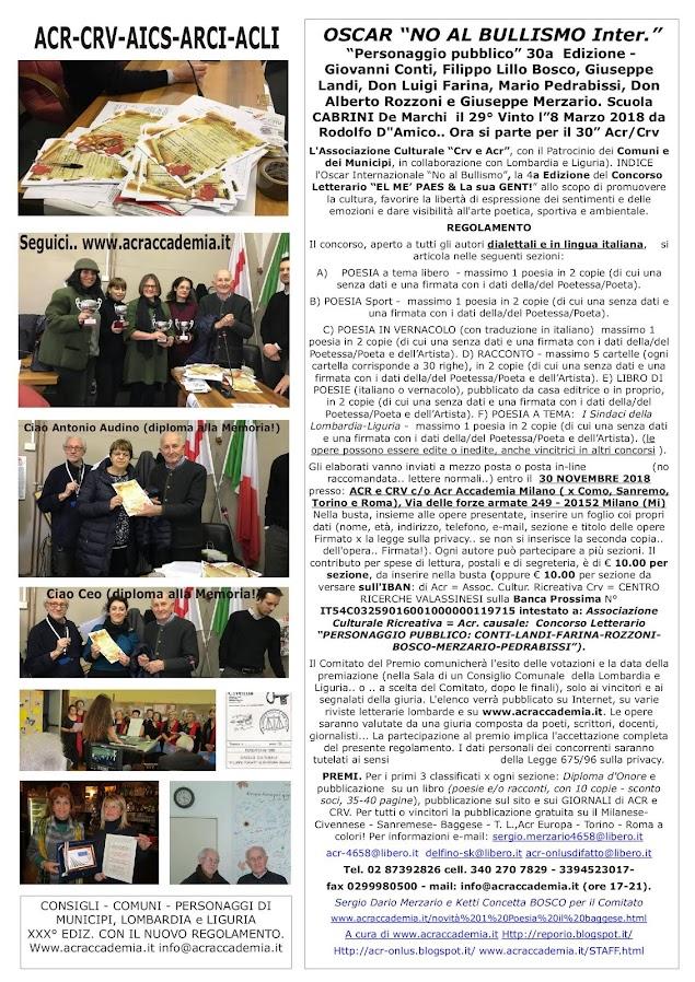 NO AL BULLISMO-SILVESTRI-PERFETTI 2019-20-21-22-23!