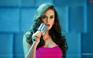 Hot Evelyn Sharma Dhak Dhak Wallpaper