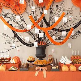 Amy Atlas Halloween Dessert Table