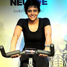 Mandira Bedi at Gold Gym Event