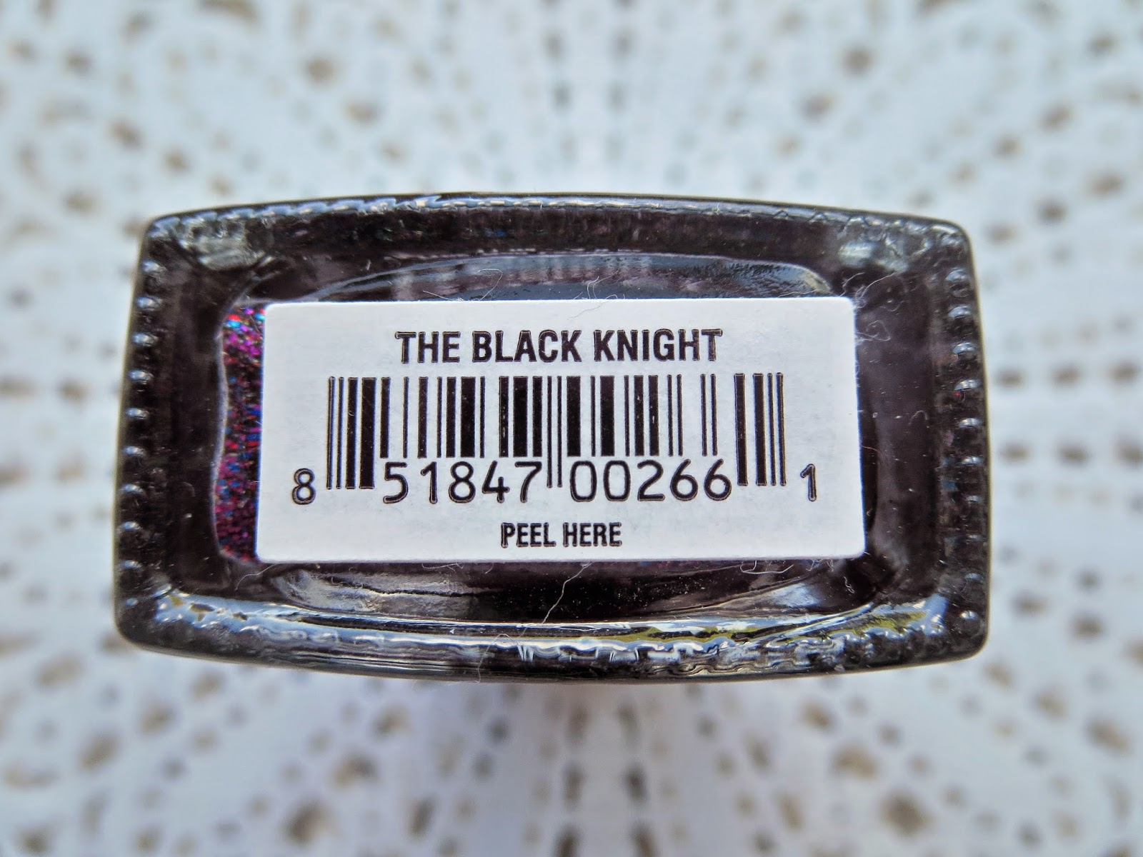 a picture of Butter London The Black Knight