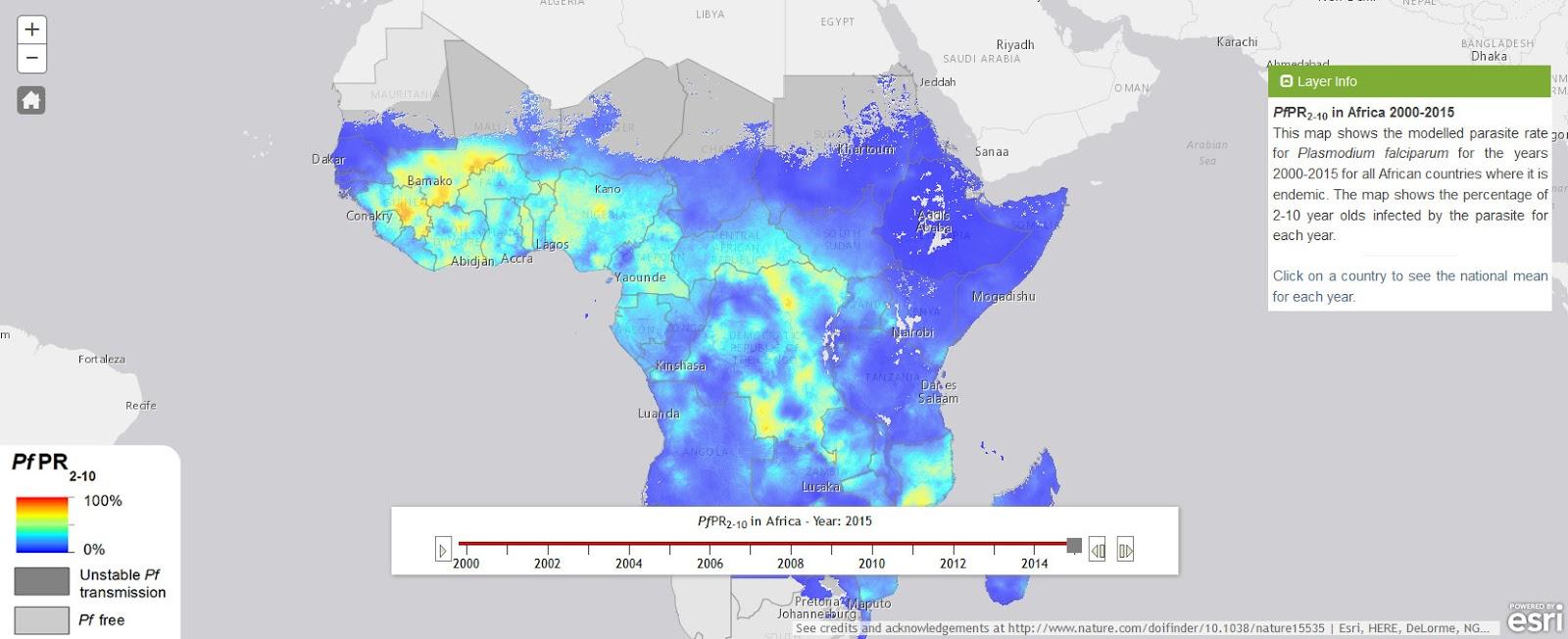The Malaria Atlas Project