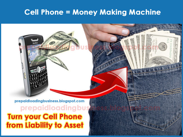 cell phone for money machine