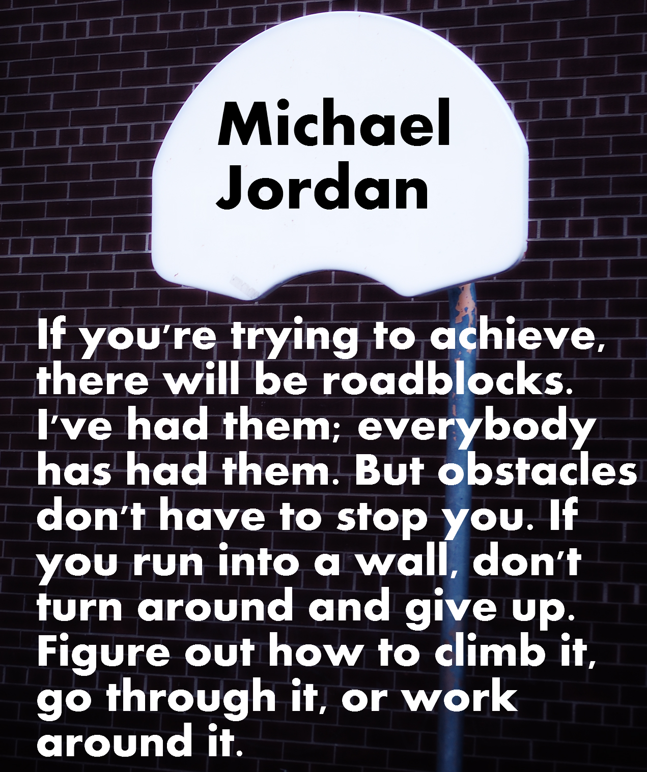 Overcoming Obstacles Quotes Motivational Nba Basketball Quotes With Pictures And Images