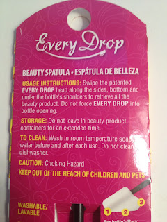 Every Drop Beauty Spatula Review