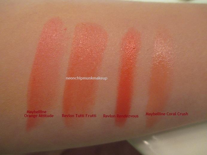 Neon Chipmunk: Maybelline Orange Attitude Color Whisper Lipstick ...