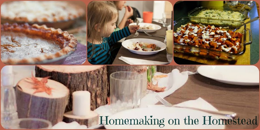 Homemaking on the Homestead