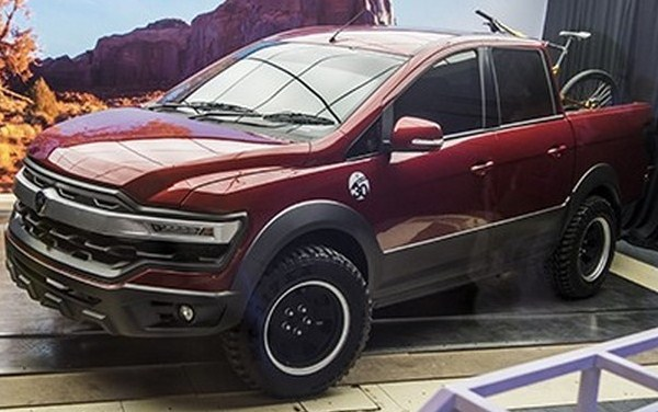 Looks Similar Sangar Proton Concept Pickup Ford Raptor