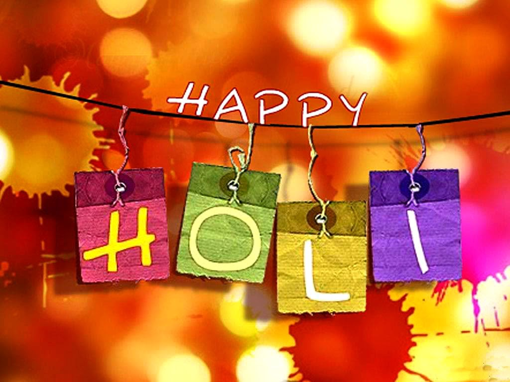 Happy Holi HD 2014 Wallpaper