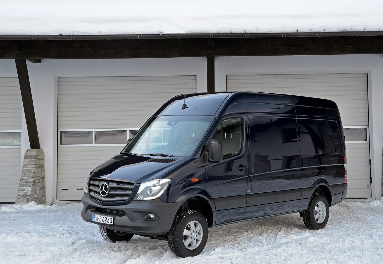 automotiveblogz 2014 mercedes benz sprinter 4x4 photos. Black Bedroom Furniture Sets. Home Design Ideas