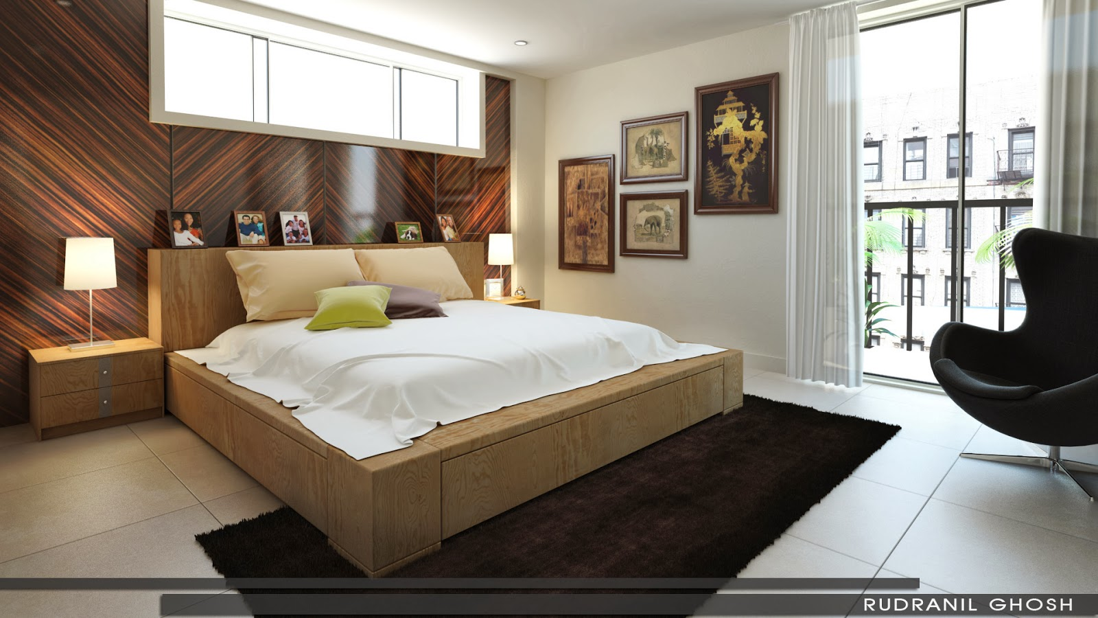 Спальня без кровати дизайн