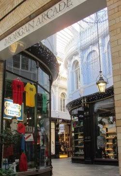 stephen nottingham's food blog: morgan arcade, cardiff
