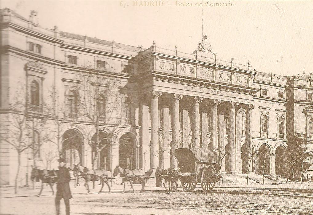 HISTORIA DE LA BOLSA DE MADRID