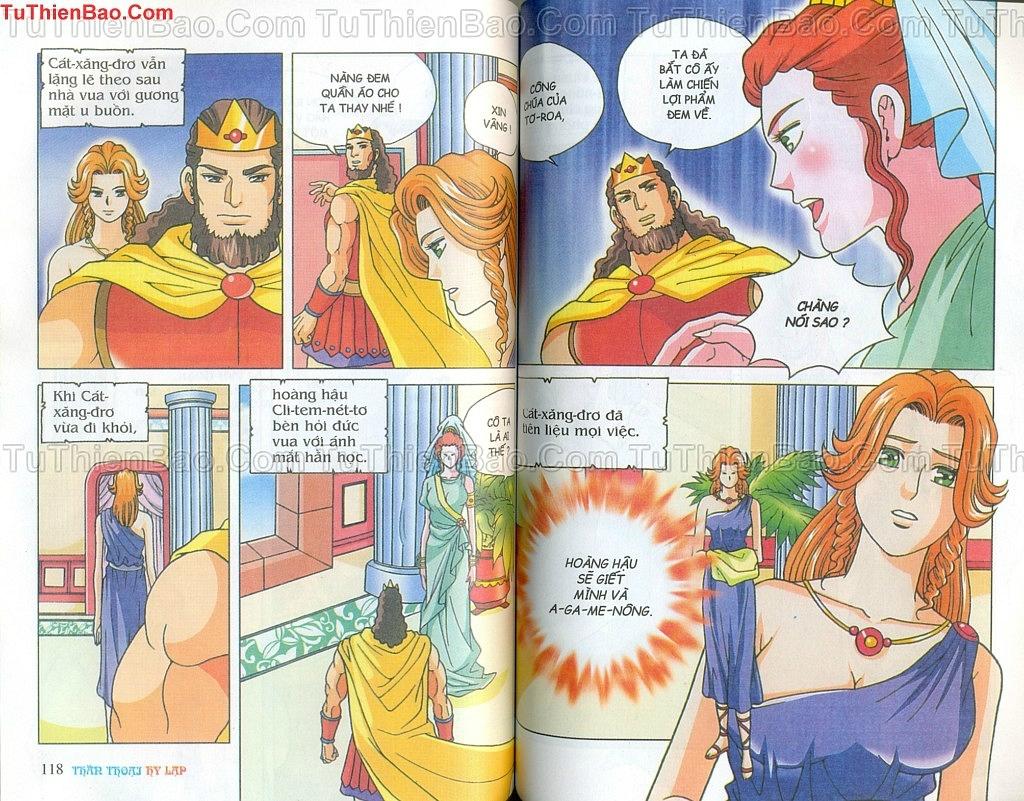 Thần thoại Hy Lạp Chapter 14 - Trang 58